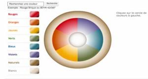 Pour tester ses couleurs avant de peindre, le simulateur peinture Dulux Valentine reprend toutes les couleurs du nuancier peinture que l'on peut visualiser par pièce et ambiance déco