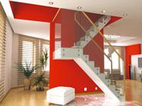 Pour donner un coup de neuf au salon, les couleurs toniques sont dans la tendance. Peinture, meubles, tapis et rideaux jouent une partition de couleur rouge, orange, jaune, vert anis.