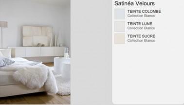 Variation de nuances de blanc dans une chambre parentale baignée de douceur