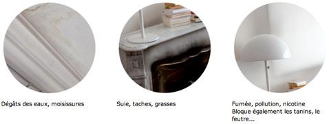 """Comment peindre murs et plafond avec tache d'humidité, de moisissure, de fumée de tabac avec la peinture direct taches Coveragrip"""""""