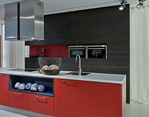 Pour moderniser sa cuisine pas cher : conserver les caissons des meubles et changer uniquement les façades et portes des meubles de la cuisine.