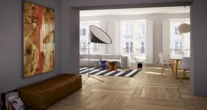 Carrelage imitation parquet pour pose sur sols et murs d'intérieur et en carrelage sol terrasse. Un carrelage déco imitant le teck, caillebotis, les lames de parquet facile d'entretien.
