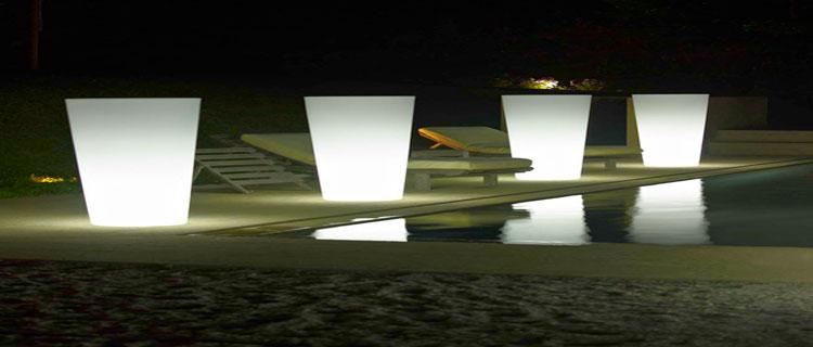 luminaire pour jardin, piscine et terrasse
