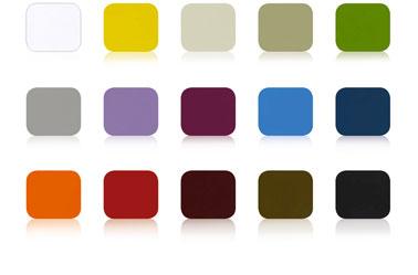 Peinture fer pour meubles de jardin et support fer extérieur. Nuancier 15 couleurs de la peinture fer Idéco de V33