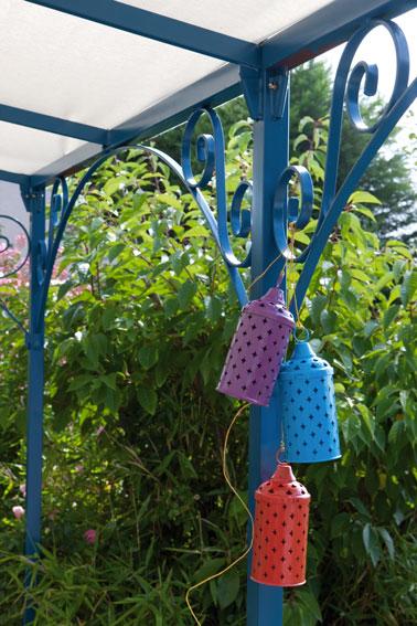 Peinture fer pour salon de jardin, pergolas, portail et tous les supports féreux du jardin Idéco V33