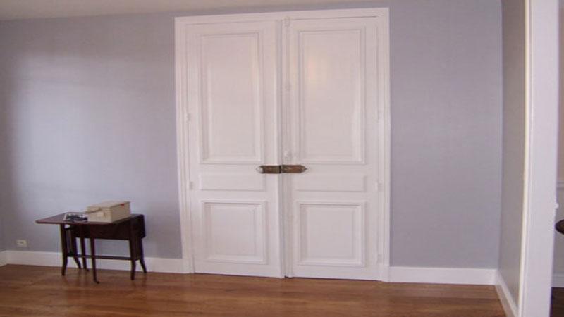 Peinture renovation portes et placards V33 pour peindre une porte ou un placard sans décaper