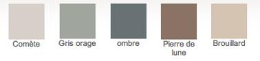 Béton ciré minéral pour meuble bois de Libéron, 5 couleurs disponibles en nuances de gris et couleurs naturelles