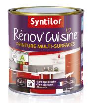 Peinture pour peindre plan de travail stratifié, mélaminé et plan de travail en carrelage Rénov'Cuisine de Syntilor