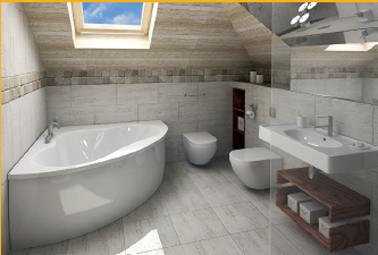 Ragréage sol salle de bain avant pose du carrelage