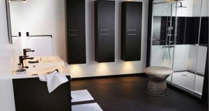 Pour trouver une idée décoration de salle de bain noir et blanc, conseils carrelage, meubles et peinture salle de bain pour une déco design, moderne ou rétro