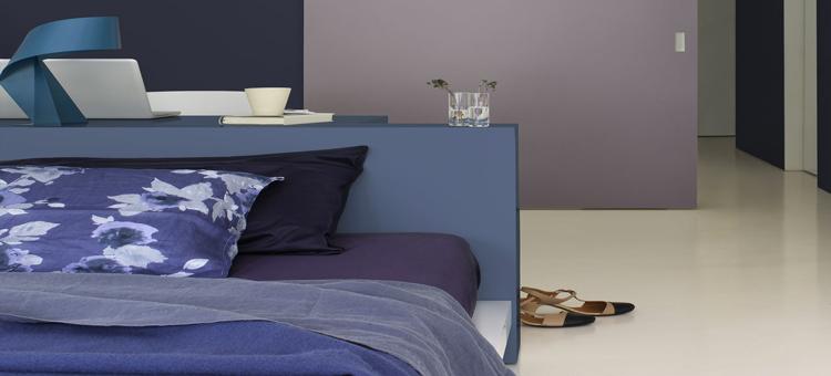 Envie d'une nouvelle peinture chambre et d'une couleur tendance ? rose vitaminé, gris minéral, bleu intense, la couleur inspire la peinture de la chambre
