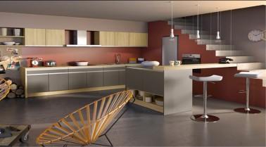 Une cuisine couleur taupe c'est une déco de cuisine zen et chic. Pour craquer pour cette couleur cuisine, idées déco de cuisine taupe avec les meubles et la peinture