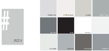 Avec ce nuancier de peinture grise des idées déco pour une association avec du noir et blanc. Gris anthracite à combiner avec un gris perle, souris ou un blanc grisé apporte tout de suite un esprit design et chic à toute la pièce. Simplicité et efficacité moderne, voilà les maitres mots de ce nuancier Astral.