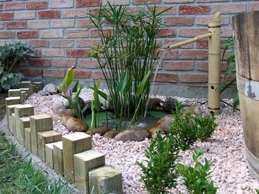 Le bambou révèle la nature des jardins zen ! Réinventée en fontaine originale, cette plante asiatique robuste est un atout pour décorer son extérieur zen.