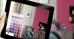 Une innovation dans le monde de la peinture d'intérieur lancée par Dulux Valentine. Un simulateur permettant de visualiser et tester une ou plusieurs couleurs en direct dans la pièce à repeindre afin être sûr de son choix avant d'acheter sa peinture.