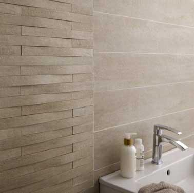 Taiga gres curvo beige mosaico compatibile con pareti doccia, prezzo 14,95 € Leroy Merlin