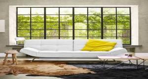 Le canapé, meuble de choix pour un salon design. Canapé d'angle, droit, en cuir ou tissu, Déco Cool a sélectionné 8 canapés design pour un salon moderne.