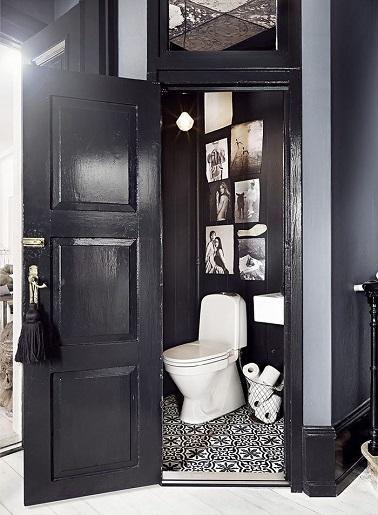 des wc noir une couleur deco pour les