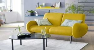 Pour optimiser l'aménagement d'un petit espace quoi de mieux qu'un petit canapé ? en tissu ou cuir, le petit canapé en fixe ou convertible est aussi design.