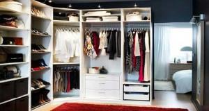 Avant de faire le plan d'aménagement du dressing, bien calculer la dimension du dressing en fonction des besoins de rangement et de la place disponible dans la pièce