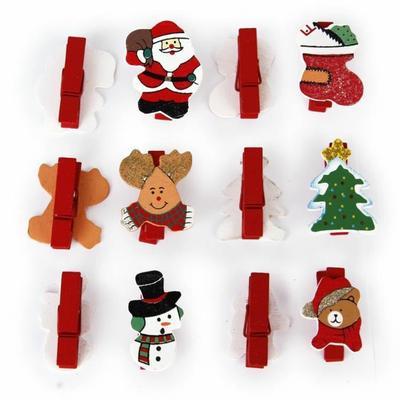 Marque-place de Noël à clip disponibles à la vente chez Cdiscount.