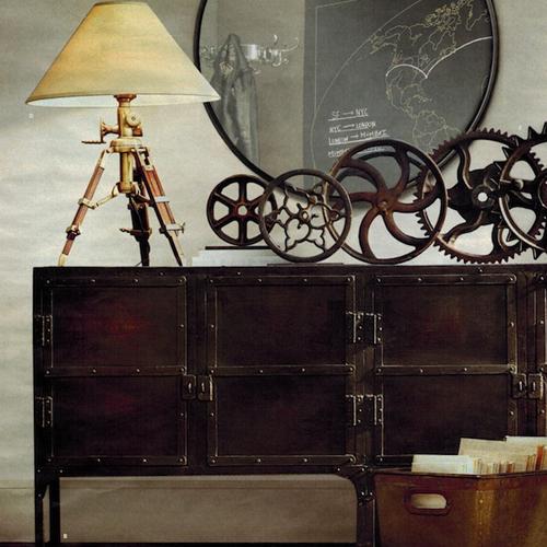 Accesorios para una decoración steampunk